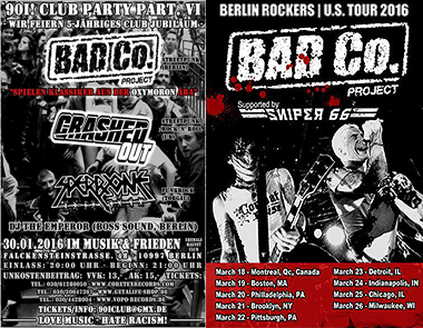 Live in Berlin & the USA